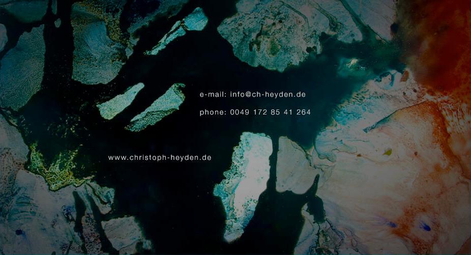 Christoph Heyden's contact details